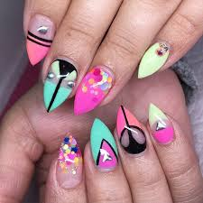 acrylic summer nail designs images nail art designs