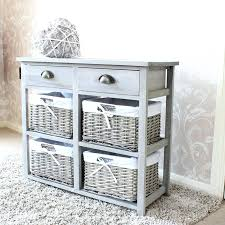 Bathroom Baskets For Storage Bathroom Storage Wicker Christlutheran Info