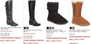 womens boots at macys macy s cyber monday sale on s shoes and boots buy one