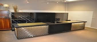 Metal Reception Desk Pallets Wood Reception Desk Desk Fan