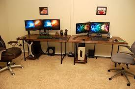 l shaped gaming computer desk desks costco desks for inspiring office furniture design ideas