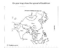 hinduism map hinduism and buddhism