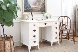 Shabby Chic Writing Desk by Provincial Shabby Chic Vintage Writing Desk No305