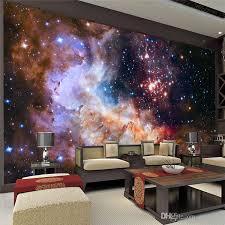 galaxy wall mural 3d gorgeous galaxy photo wallpaper custom silk wallpaper starry