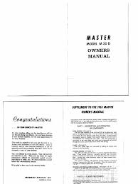 mooney master m20d owner u0027s manual