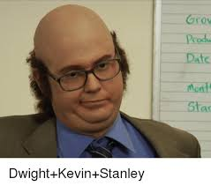 Meme Stanley - grov prod date mont sta dwight kevin stanley the office meme on