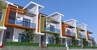 row house scheme vk a architecture