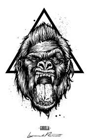 butterfly and lion tattoo best 25 gorilla tattoo ideas on pinterest samurai tattoo skull