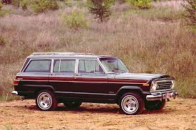 brown jeep legends jeep wagoneer suv