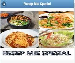 recipe apk special mie recipe apk free books reference app for