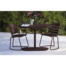 Retro Patio Umbrella by Bistro Sets Patio Dining Furniture The Home Depot