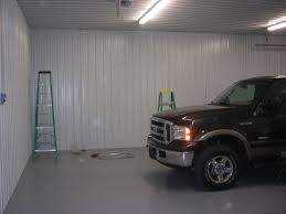 materials for garage ceiling metal vs 4x8 panels the garage