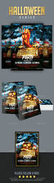 halloween website template club u0026 party flyer templates from graphicriver