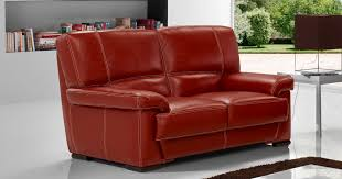 canapé 2places salon arezzo 3 2 en véritable cuir de buffle fabrication italienne