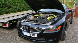 bmw z10 supercar the bmw z4 with a viper v10 is for sale just four years later