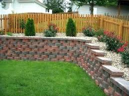 Backyard Retaining Wall Ideas Landscape Wood Retaining Wall Timber Landscape Steps Ideas For