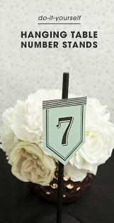 diy table number holders look at these unique diy table number stands