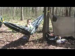 diy survival hammock youtube