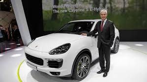 Porsche Cayenne Hybrid - world premiere of the porsche cayenne s e hybrid