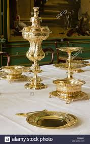 Silver Items Silver Gilt And Silver Items Including Dessert Plates And A