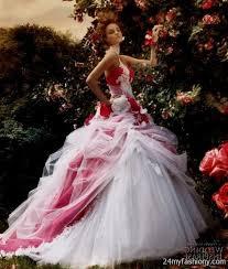wedding dresses 2017 red colour wedding dresses haute couture