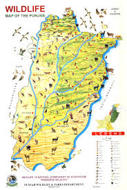 Map Of Punjab India by Locality Maps Forest Wildlife U0026 Fisheries Department