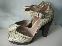 boots sale uk ebay repro 1940s vintage wartime style topshop leather deco shoes