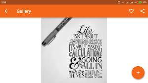 design font apk hand lettering art design apk download free lifestyle app for