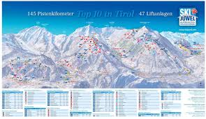 Piste Maps For Italian Ski by Ski Jewel Alpbachtal Wildschönau Austrian Ski Resort J2ski