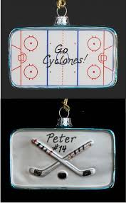 hockey rink glass ornament 650 glass ornaments world
