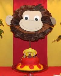 Curious George Centerpieces by Diy Curious George Centerpiece Google Search Curious George