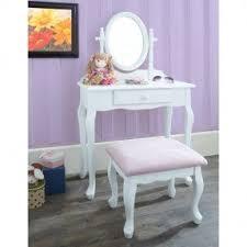 Pink Vanity Table White Bedroom Vanity Set Foter