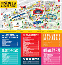 Dallas Neighborhood Map by Your Guide To The State Fair Of Texas 2016 The Final Days D