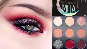 Makeup Mua manny mua x makeup palette tutorial review swatches