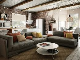 industrial apartments small industrial apartment with exposed brick walls digsdigs