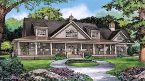 Farmhouse Building Plans Top Ranch House Plans With Wrap Around Porch Design And Brick Farm