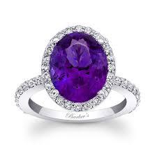amethyst engagement rings barkev s amethyst halo ring 7905lamt