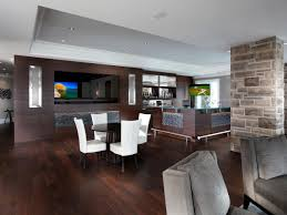 dining room paneling flooring basement with basement bar and wood paneling for walls