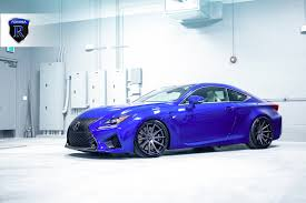 lexus rc f stance lexus rc f gets a new look with the graphite rohana rc10 wheels