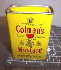 coleman s mustard vintage colmans mustard tin ebay