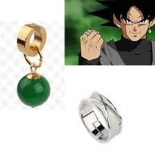 potara earrings supreme kais potara goku black fusion zamasu