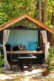 Outside Playhouse Plans 143 Best Playhouses My Kids Would Love Images On Pinterest Diy