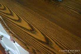 laminate table top refinishing how to refinish a table top or dresser part 1 lost found
