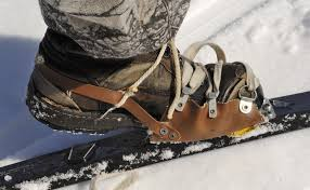 how to retrofit snowshoe bindings to cross country skis