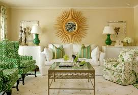 Modern Home Decor With Natural Color Furniture And by Nice Natural Inside House Paint Ideas That Has Green Seat And