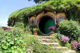 greenroofs projects hobbiton movie set bilbo frodo baggins hobbit hole hobbiton october photo