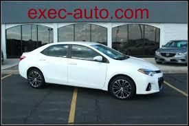 toyota corolla sport 2014 for sale 2014 toyota corolla s plus inventory executive auto sales