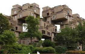 canadian homes ad classics habitat 67 safdie architects archdaily