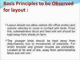 House Layout Design Principles Design Of Poultry Houses