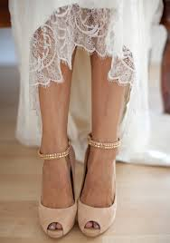 blush wedding shoes bridal style neutral colored high heels are a fit for